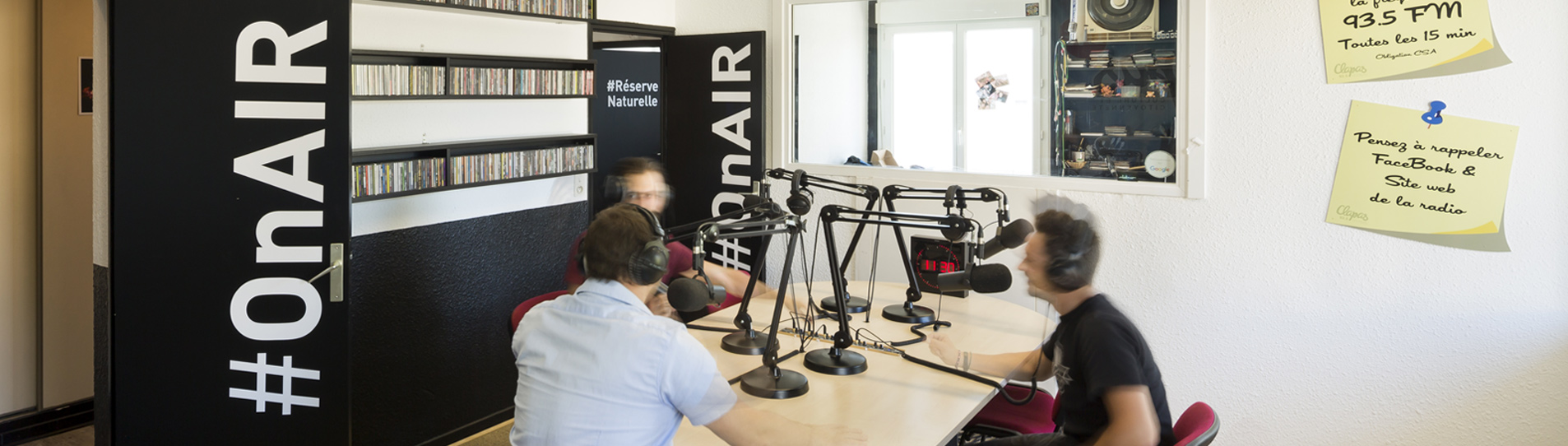 locaux radio clapas - studio