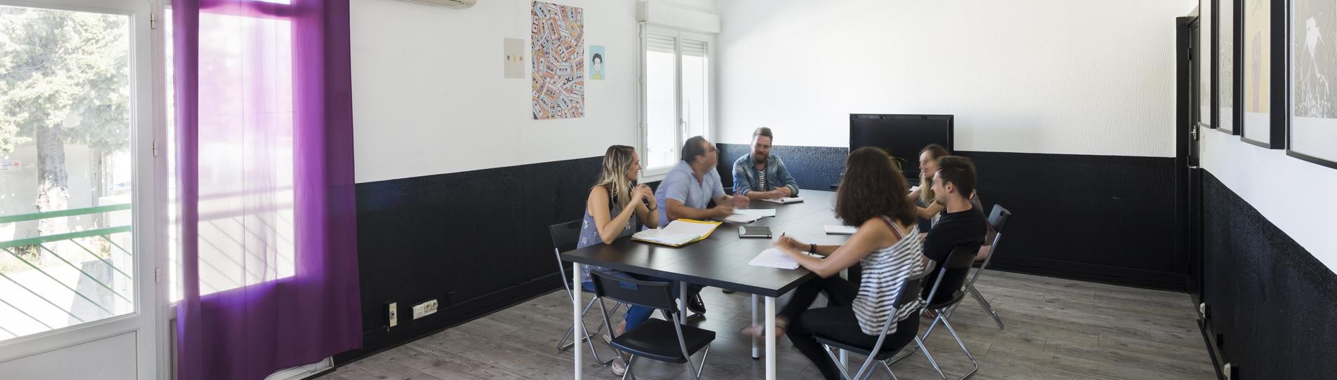 locaux radio clapas - salle de réunion/formation