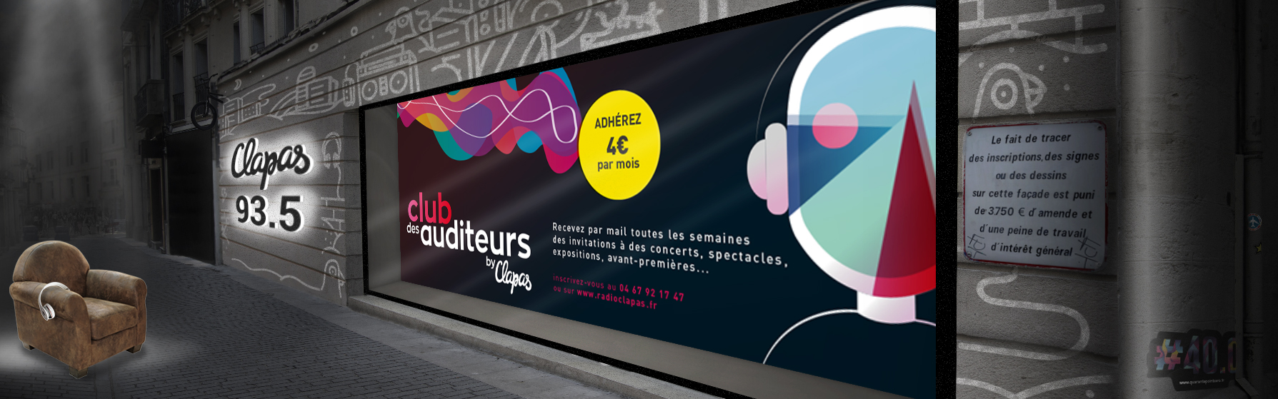 slider club des auditeurs